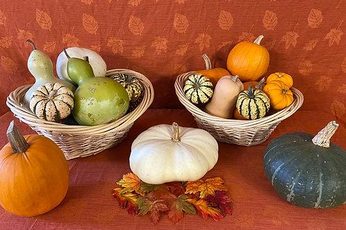 Mixed Fall Décor Baskets
