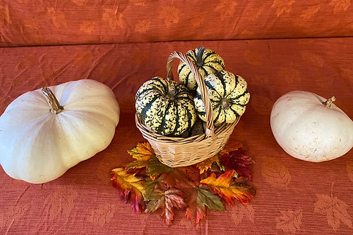 Edible Fall Décor Basket
