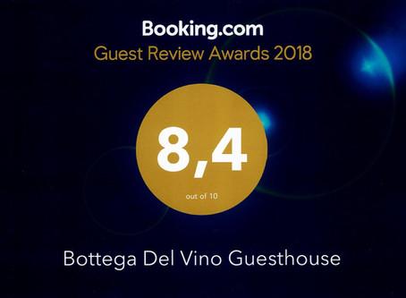 Riconoscimento da Booking.com