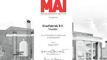 GrasFabriek is mede-oprichter MAI