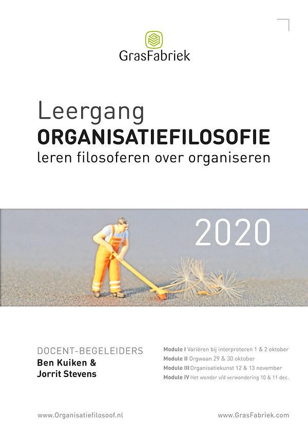 Poster Leergang Organisatiefilosofie 202