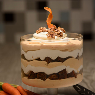 Carrot Cake Mousse Trifle