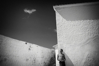 Angel and cloud