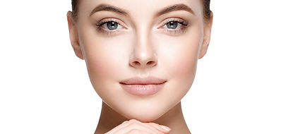 Image of beautiful cosmetic surgery patient