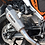 Thumbnail: XP10 Titanium Look Hexagonal Exhaust Silencer 51mm