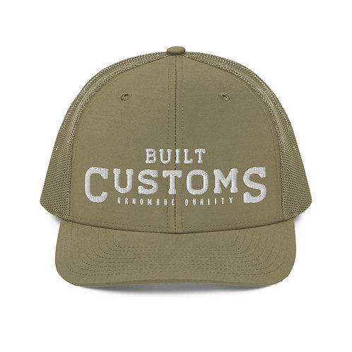 Built Customs - Khaki Trucker Cap