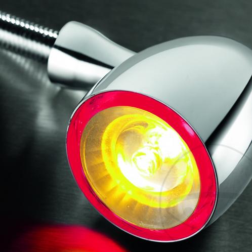 Kellerman Indicator Light Chrome Bullet 1000 DF