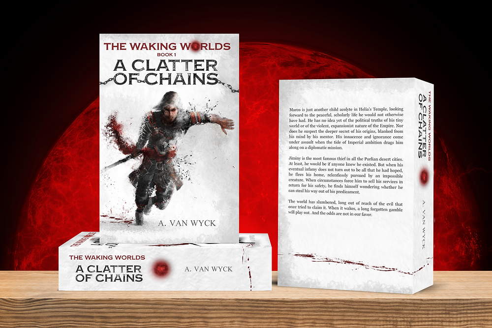 A Clatter of Chains' new book cover