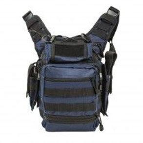 VISM® by NcSTAR® PVC FIRST RESPONDERS UTILITY BAG/ BLUE w/BLACK TRIM