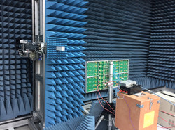 Subarray test in anechoic chamber