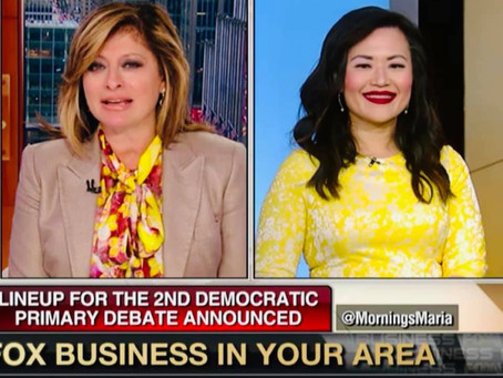 My latest FOX Business segment with Maria Bartiromo