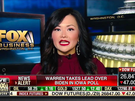 Thank you for having me on today Fox Business!