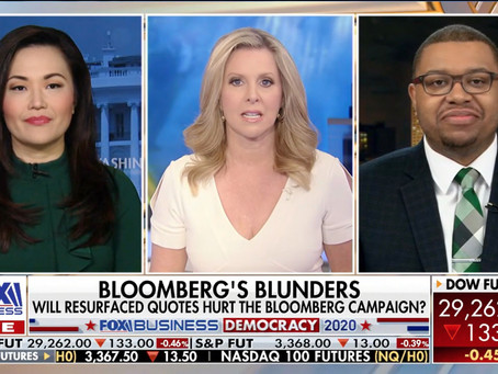 Fox Business AM:  Mayor Bloomberg qualifies for Nevada