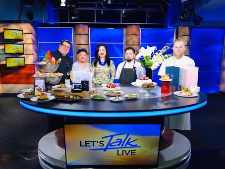 Set your DVR's!  Next Let's Talk Live segment booked!