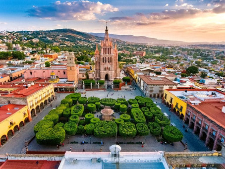 Gone to San Miguel de Allende!