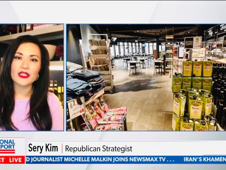 Thanks for having me on Newsmax TV's National Report