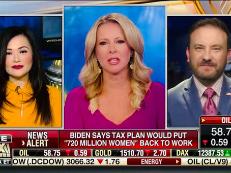 Thanks for having me on today Fox Business AM!
