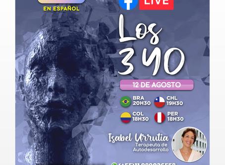 FACEBOOK LIVE - LOGOS CAMINHO EN ESPAÑOL - LOS 3 YO- 12/08