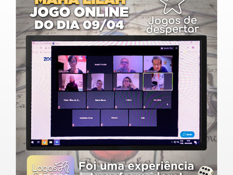 MAHA-LILAH JOGO ONLINE DO DIA 09/04 - FOI UMA EXPERIÊNCIA TRANSFORMADORA!