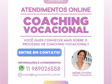 COACHING VOCACIONAL - ATENDIMENTOS ONLINE