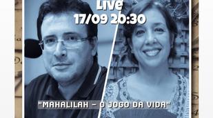 INSTAGRAM LIVE - MAHALILAH SESSÃO ESPECIAL COM SERGINHO CARNEVALE 17/09 - 20H30