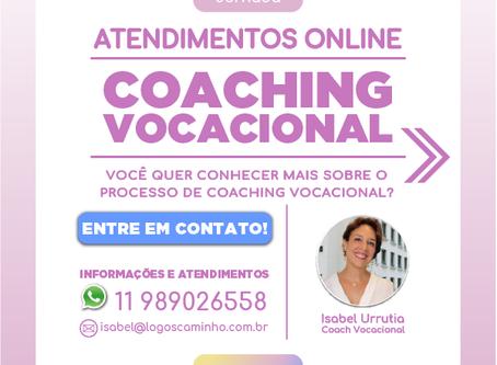 ATENDIMENTOS - COACHING VOCACIONAL