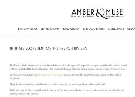 Amber & Muse - Fine Art Wedding Inspirat