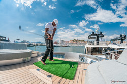 Bespoke Golf Events on Yachts