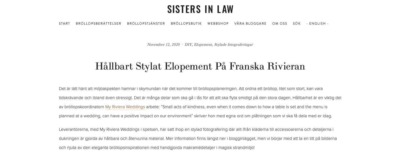 SISTERS IN LAW BLOG