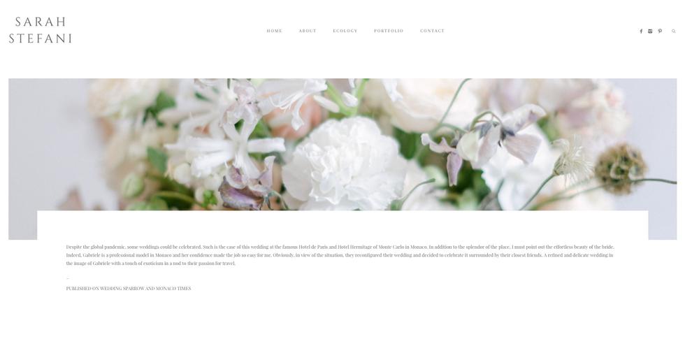 Blog Sarah Stefani Photographer