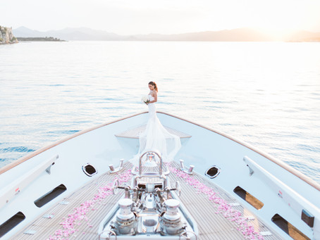 An Intimate Yacht Wedding