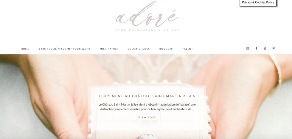 Adoré Blog Mariage