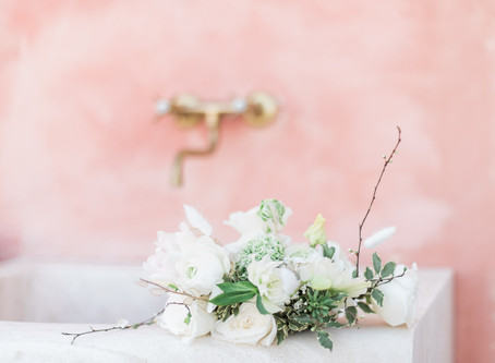 Spring Wedding Flower Guide with Dandelions & Grace
