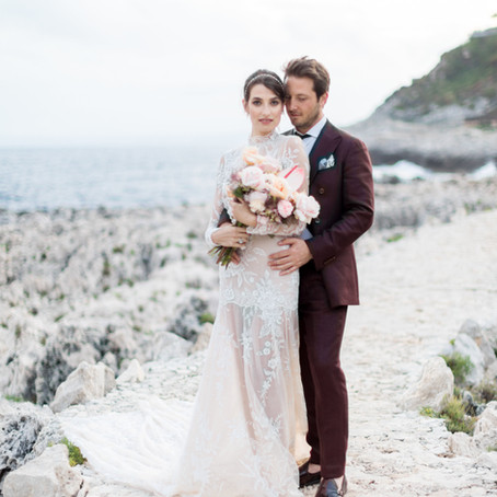 An Intimate Saint-Jean-Cap-Ferrat Sunset Elopement