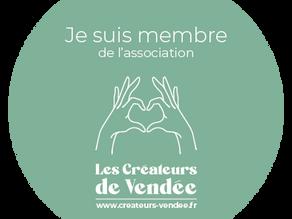 Proud to Join Les Créateurs de Vendée!