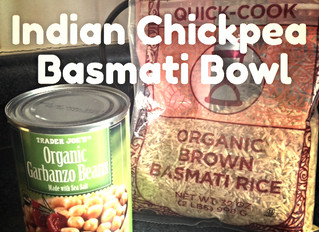Indian Chickpea Basmati Bowl