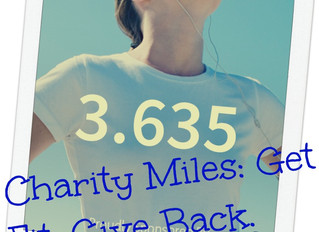 The Charities of Charity Miles!