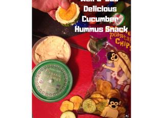 Cucumber Hummus Snack-splosion