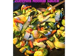 Zucchini Noodle Saute