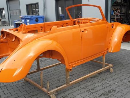 Käfer Cabrio fertigestellt