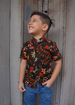 [Custom-Made] Kid's Mandarin Shirt