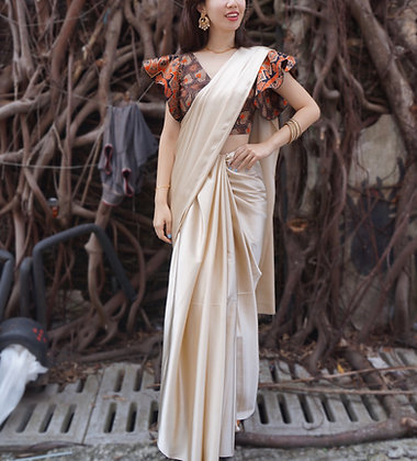 [Custom-Made] Nadia Saree Set