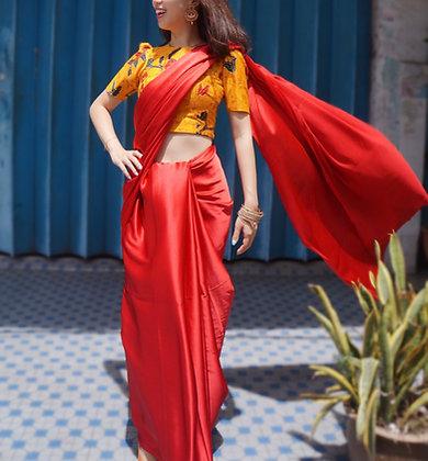 [Custom-Made] Aparna Saree Set