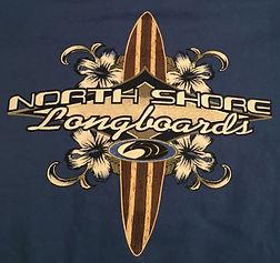 North Shore Longboards - Navy