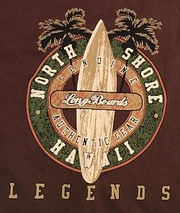 North Shore Longboards Legends - Brown