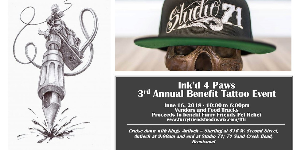 Ink'd 4 Paws 2018