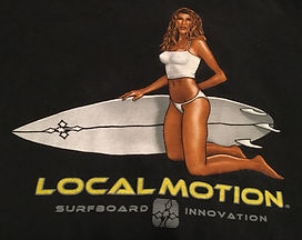 Local Motion Bikini Girl - Black