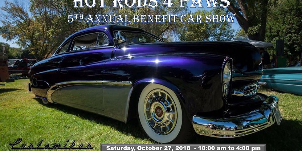Hot Rods 4 Paws 2018