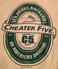 Cheater Five - Olive on Sand