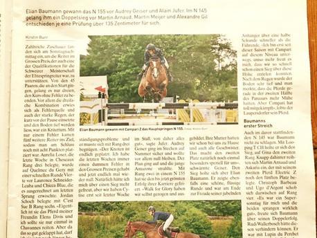 Artikel in der Pferdewoche